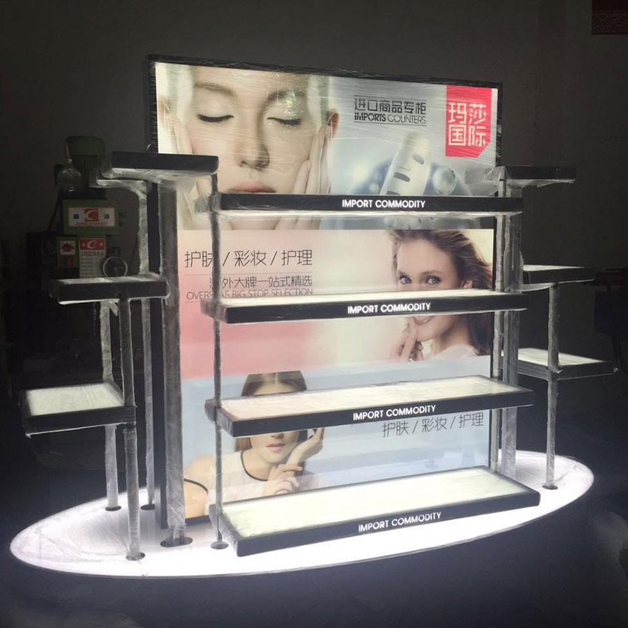 玛莎国际 化妆用品陈列架