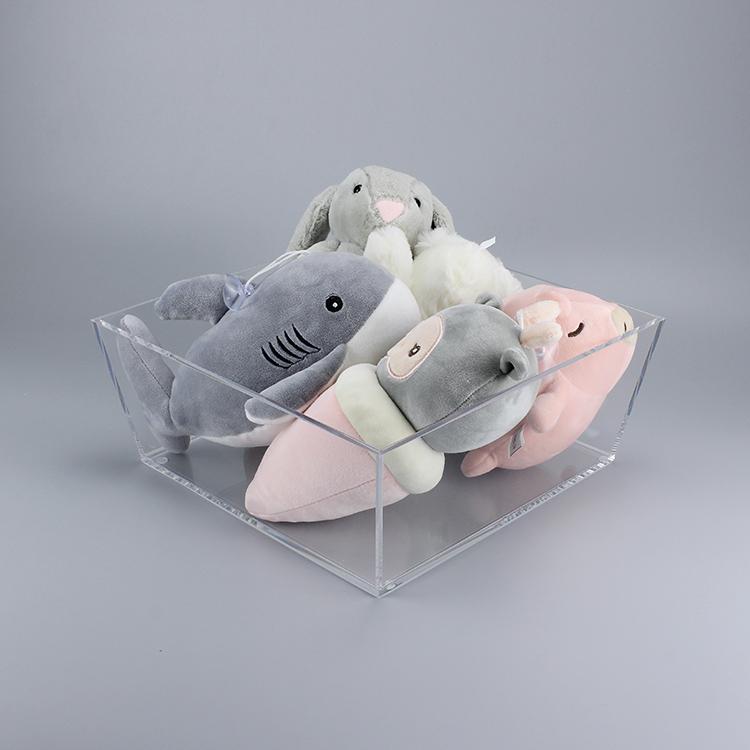 APEX透明亚克力玩具收纳盒展示架