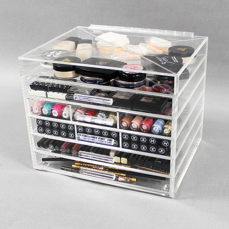 龙岗透明化妆品收纳盒