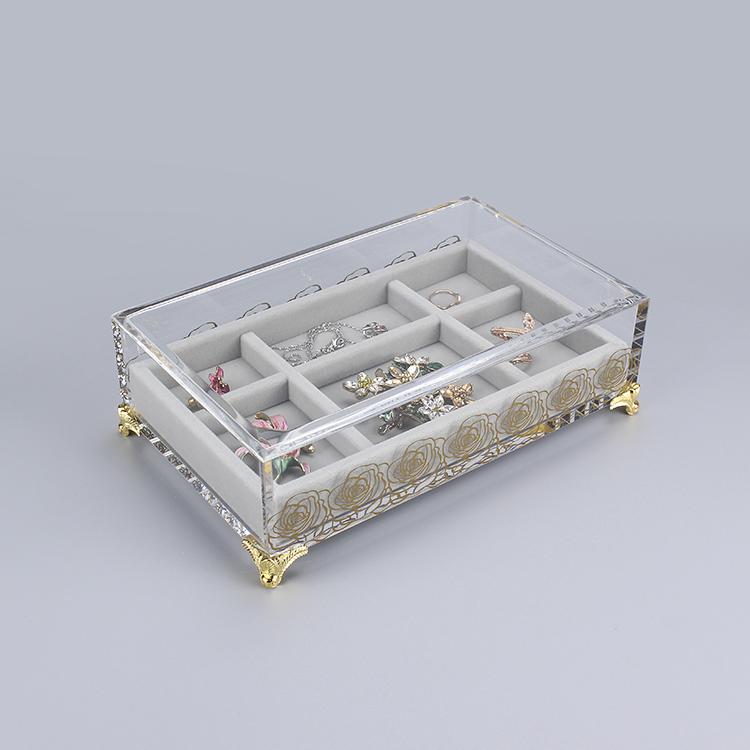 亚克力珠宝收纳盒