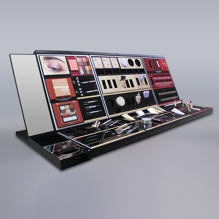 商场高档柜台彩妆展示陈列道具
