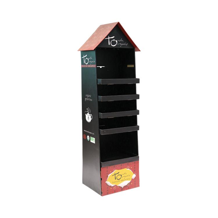 APEX定制纸货架纸展示架纸展示盒瓦楞pdq格层陈列架促销纸堆头