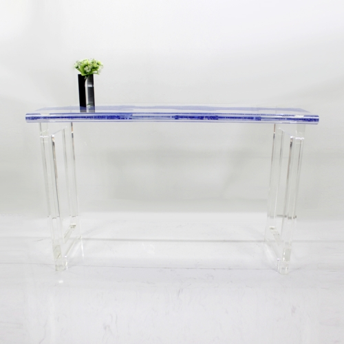 亚克力透明书桌