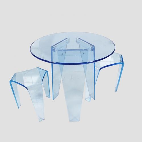 东莞亚克力水晶桌椅