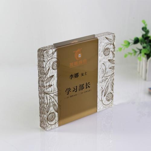 东莞亚克力水晶奖牌