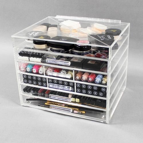 东莞透明化妆品收纳盒