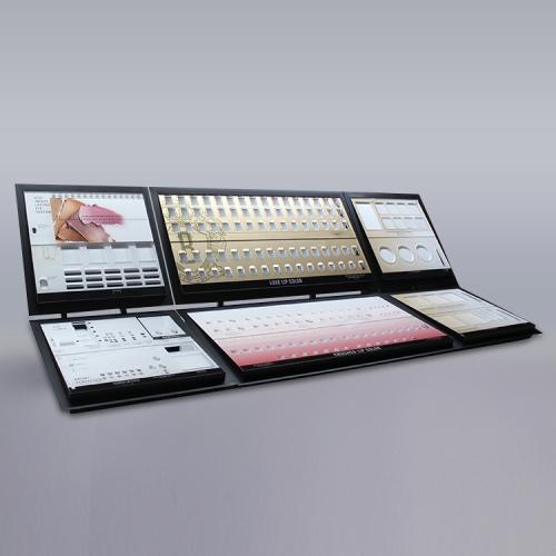 高端复合型化妆品展示陈列架