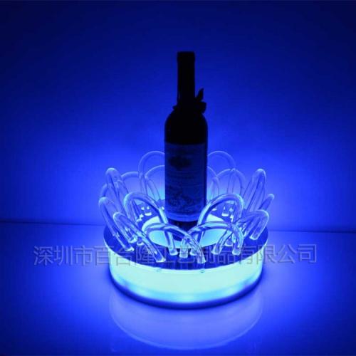 亚克力LED酒类展示架
