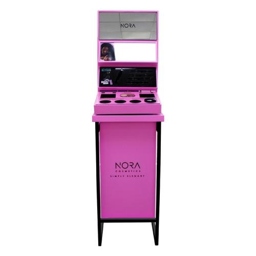 APEX金属材质商场店铺化妆品储放展示柜