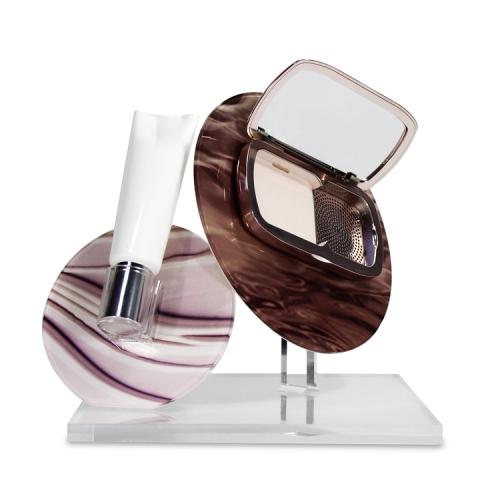 APEX亚克力化妆品台面展示架