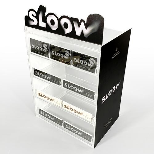 APEX定制设计香烟烟杆陈列架商场超市雾化器展示亚加力连锁店展示道具