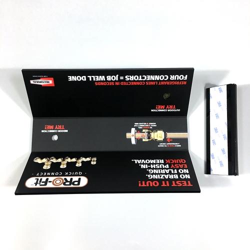 APEX黑色亚克力水龙头展示架厂家定制销售