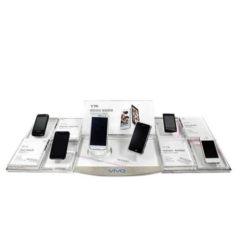 APEX亚克力展示架 透明透明手机陈列架桌面样品摆台定制