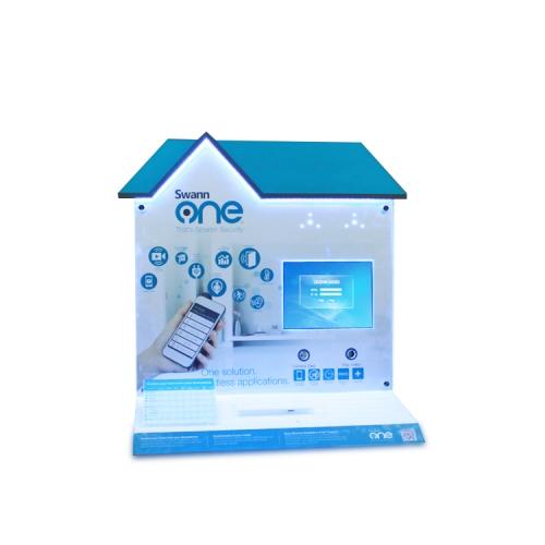 APEX亚克力手机展示架平板电脑陈列架商场专柜数码产品宣传展示架定制