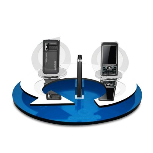 APEX定制亚克力发光手机电子产品陈列展示架