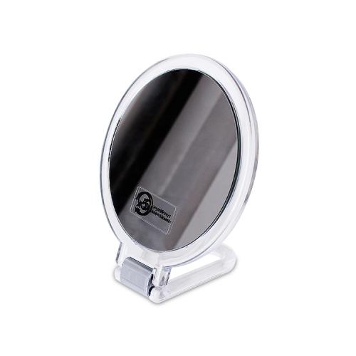 APEX定制设计化妆镜台式单面梳妆台高清旋转可爱公主镜宿舍桌面小圆镜