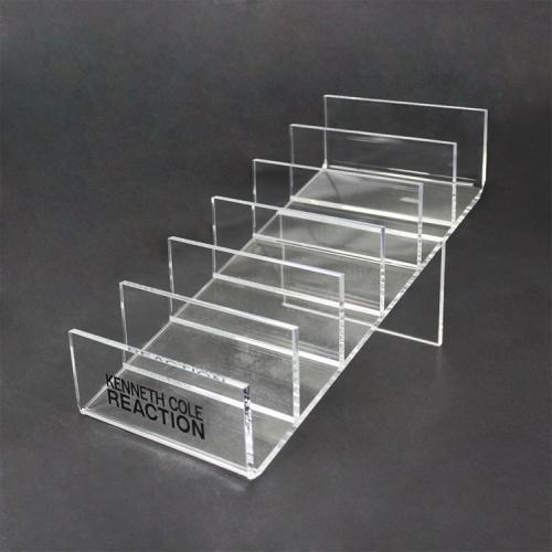 APEX厂家定制有机玻璃展示架 亚克力制品加工 钱包 化妆品  亚克力陈列展示架定做
