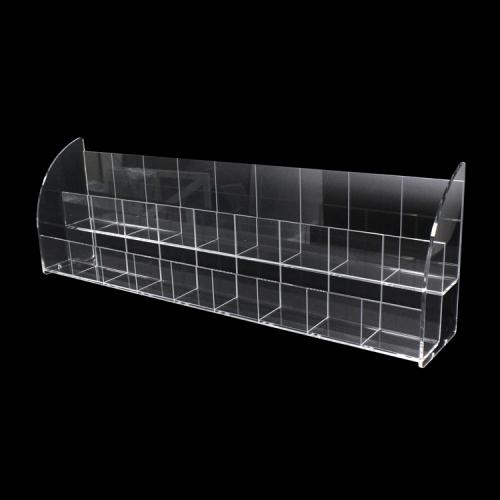APEX深圳厂家定做亚克力耳环收纳盒 亚克力物品展示盒 翻盖亚克力盒子