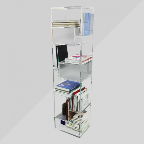 APEX定制亚克力书架亚克力居家桌椅 办公用品 有机玻璃桌椅