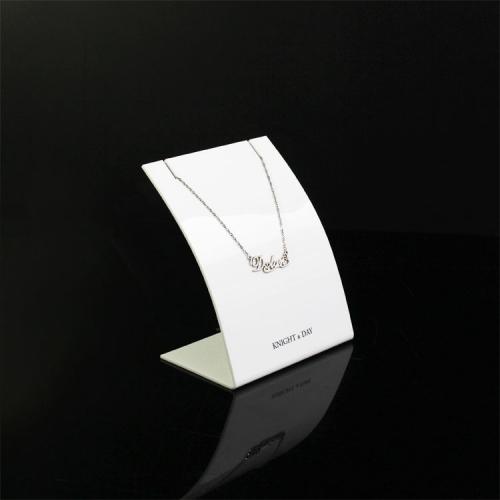 L型珠宝橱窗亚克力展示架