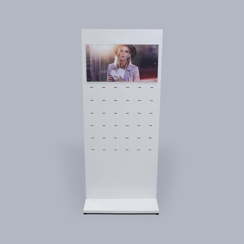 APEX定制LED发光 商超货品陈列架了 亚克力+金属综合展示架