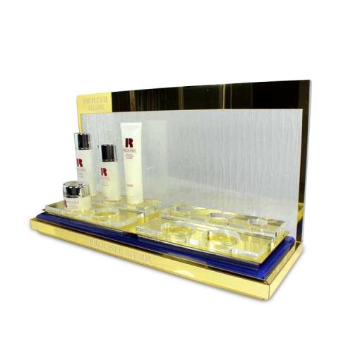 APEX厂家定做亚克力展示电子化妆品服装展台展示架超市促销陈列架设计定制