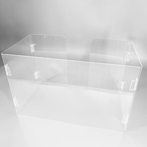 APEX亚克力防飞沫隔离挡板有机玻璃可折叠
