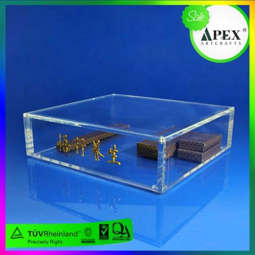 APEX有机玻璃包装盒 陈列盒 天地盖展示盒 专业定制透明亚克力盒子