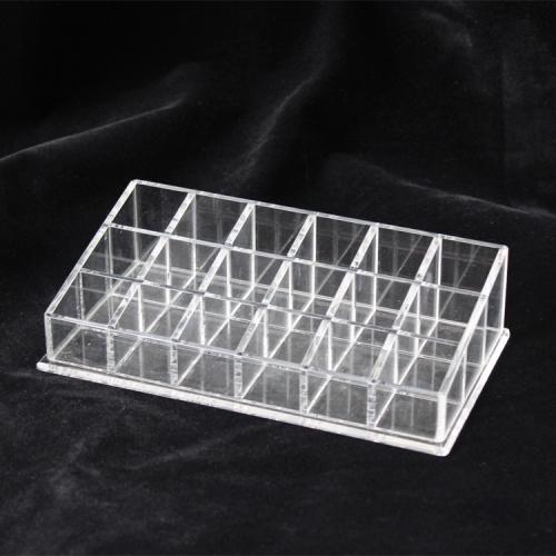 APEX亚克力化妆刷展示架桌面眉笔口红有机玻璃收纳盒定制加工