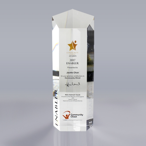 APEX定制亚克力奖杯奖牌受权牌