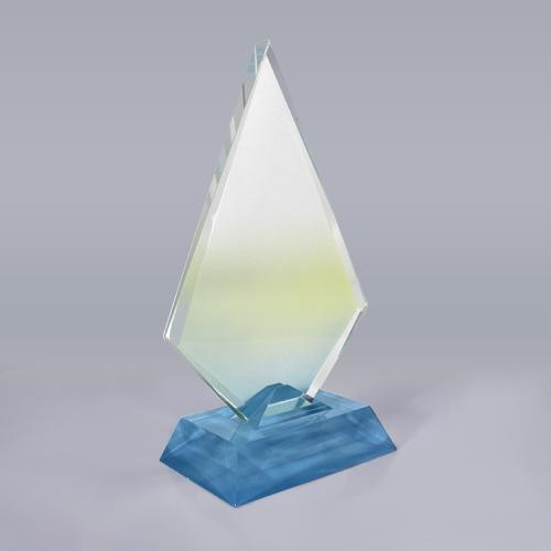 APEX定制亚克力异形彩色奖杯荣誉奖品纪念杯座