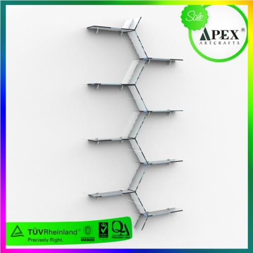 APEX定制亚克力多层书架小玩具陈列架