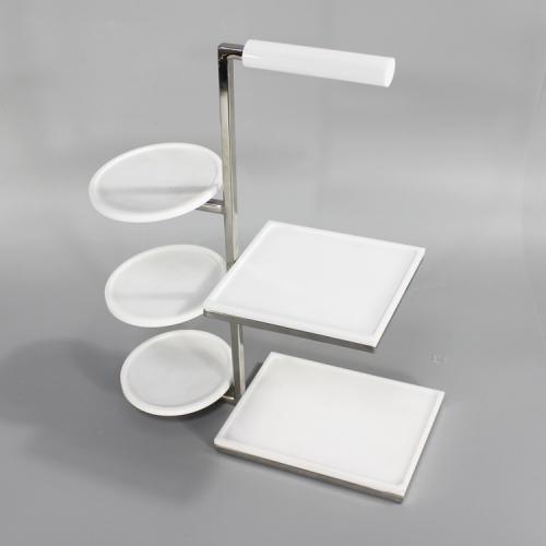 APEX高端定制亚克力茶具展示架