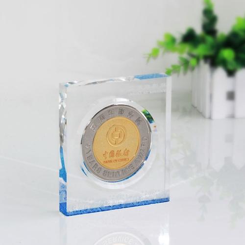 APEX亚克力金属纪念章奖牌