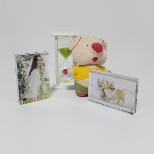 APEX新款亚克力全家福儿童影楼相框3x5