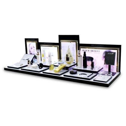 APEX定制亚克力化妆护肤品柜台展示架