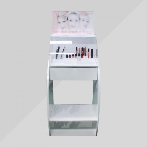 APEX定制亚克力化妆护肤品落地展示架