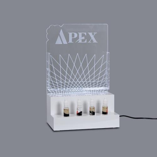 APEX定制亚克力烟油烟具电子烟道具展示架