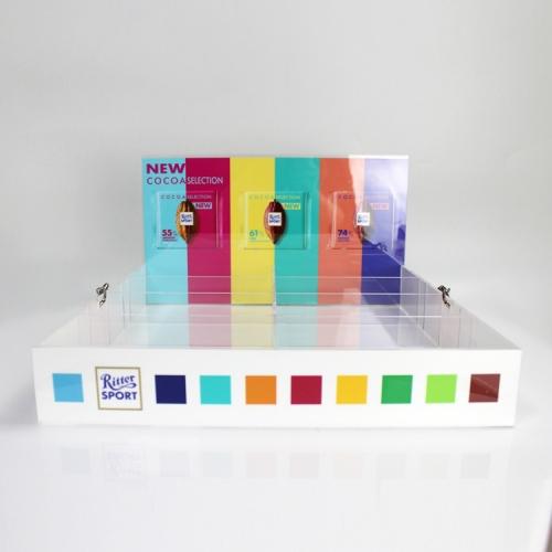 APEX定制亚克力零食香烟食品展示架陈列架