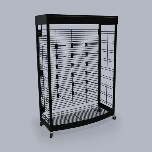 APEX 金属零食展示货架知名展架/柜设计服务可靠放心