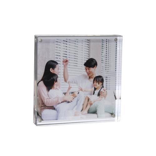 APEX定制亚克力金属家庭儿童影楼画册相框相架架