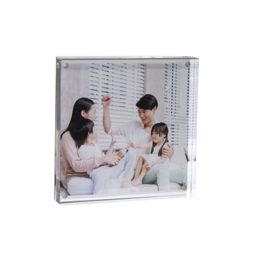 APEX定制亚克力方形儿童家庭影楼画册相框相架