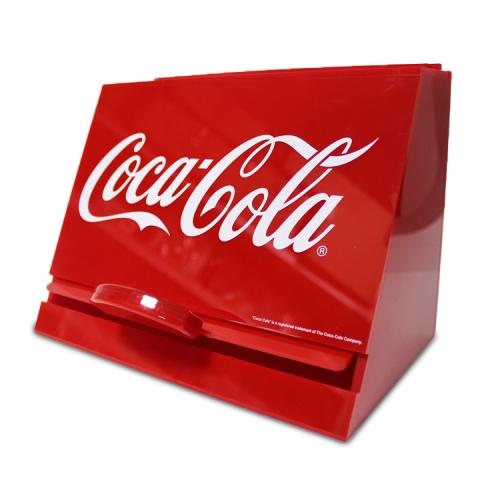 APEX 食品饮料红色亚克力收纳盒展示架
