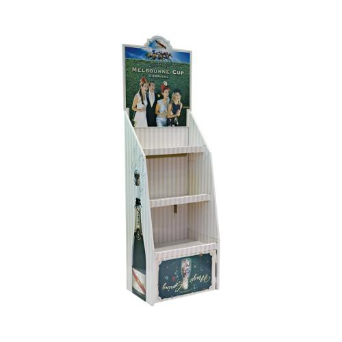 APEX印刷生产厂家 定制零食纸货架 儿童玩具纸展示架 日用品纸陈列