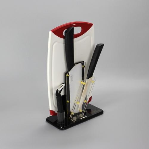 APEX定制亚克力刀具厨房用品展示架陈列架