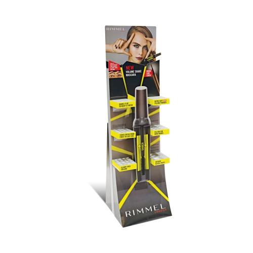 APEX定制化妆品货架食品酒水饮料展示架厂家直销瓦楞文具纸展示架