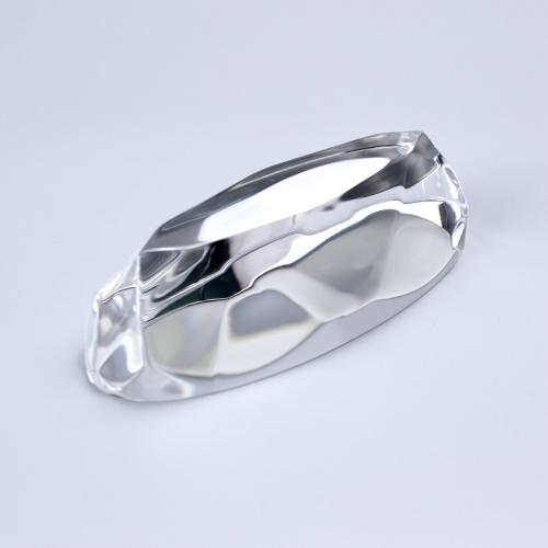 APEX厂家定制亚克力椭圆形钻环保钻装修场景饰品道具配件