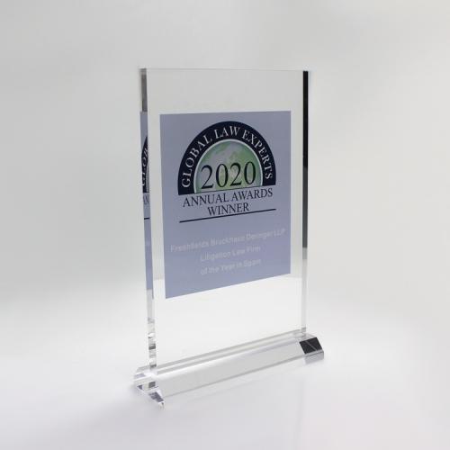 APEX亚克力透明奖杯奖牌标识标牌