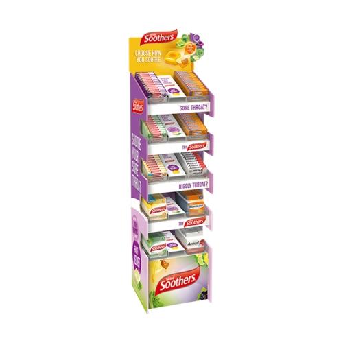 APEX专业定制印刷 超市路展陈列架促销纸货架纸展架