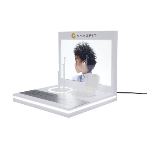 光电耳机3C电子亚克力产品展示架定制